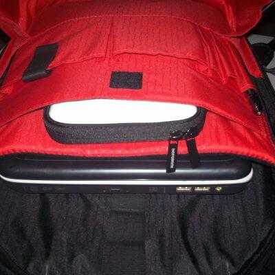 Ujicoba produk Databank backpack hardcase Transformer