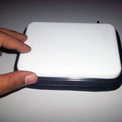 Ujicoba produk Databank External Harddisk hardcase