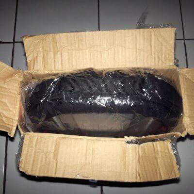 Bongkar paket Dinomarket - paket dibuka