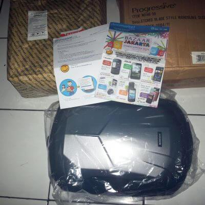 Bongkar paket Dinomarket - isi paket dan barang