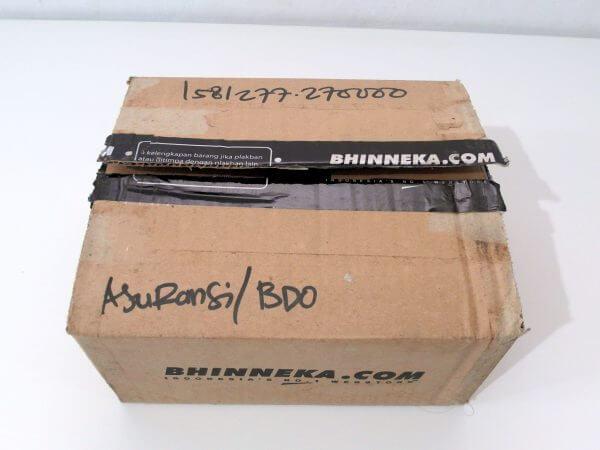 Kardus paket Bhinneka.com