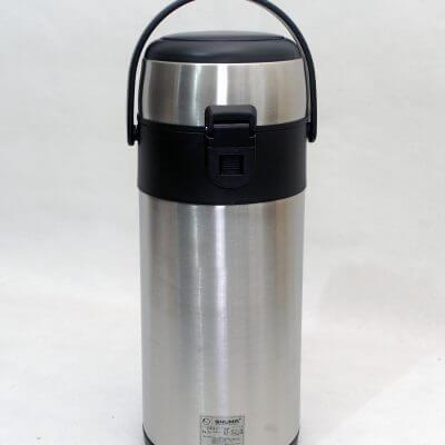 Shuma Stainless Steel Vacuum Airpot (tampak belakang)